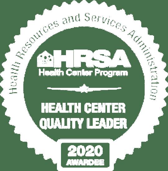 HRSA 2020 Award logo